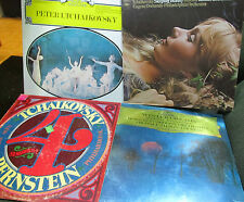 4 lp lot tchaikovsky winter dreams sleeping beauty symphony no 4 promo bernstein