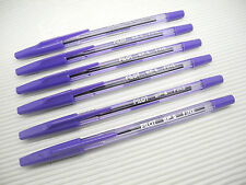 12 pcs PILOT BP-S  0.7mm fine ball point pen VIOLET