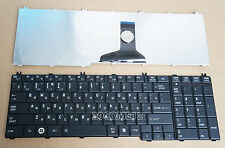 For Toshiba Satellite L660D L665D L750 L750D L755 L755D Keyboard Russian Black