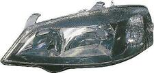 Vauxhall Astra Mk4 98-04 black smoked replacement passenger headlight