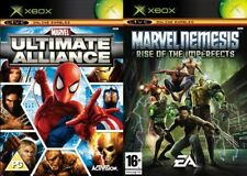Marvel Ultimate Alliance & Nemesis Rise of the Imperfects Original Xbox PAL
