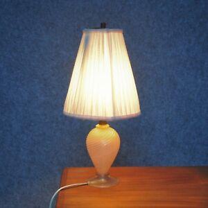 Tischleuchte Barovier Seguso Ära tablelight 50er Lampe vintage midcentury design