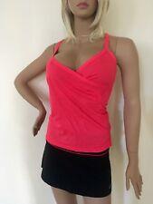 Lorna Jane Hot Pink Mesh Workout Top XS