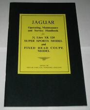 Operating Instructions Handbuch/Owner ´S Manual Jaguar Xk120, Stand 1948