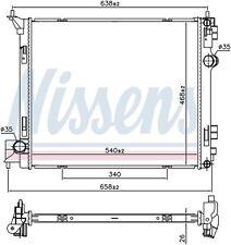 RADIADOR NISSAN X-TRAIL 1.6 DCI 1.6 DIG-TURBO T32 - OE: 214104BE0A - NUEVO!!