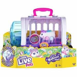 Little Live Pets Lil' Hamsters Series 1 Hamster & House Set - Popmello