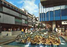 Alte Postkarte - Hannover - Brunnen in der Karmarschstraße