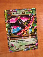 NM MEGA Pokemon M VENUSAUR EX Card EVOLUTIONS Set 2/108 XY X and Y Ultra Rare