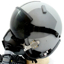 NEW HGU-GENTEX 55/P USA LG Jet Fighter Pilot Helmet MBU MW Edge 20/P Oxygen Mask
