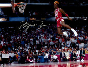 Michael Jordan Flying Dunks Basketball Silk Poster Print Wallpaper 24x31inch
