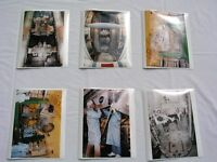 SET OF 6 ORIGINAL NASA ISSUED COLOR PHOTOS SHOWING PAYLOAD PREP FOR STS-85