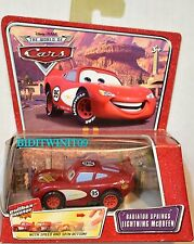 DISNEY PIXAR THE WORLD OF CARS RADIATOR SPRINGS LIGHTNING MCQUEEN