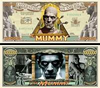 Laurel /& Hardy Million Dollar Bill Fake Funny Money Novelty Note FREE SLEEVE