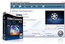 Leawo Video Converter Pro, 100+ video & audio formats,AVI,MP4,WMV,WAV,AAC,