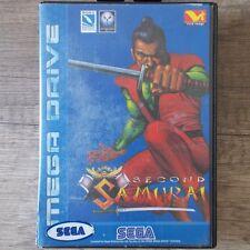 Sega mega drive ► second samurai ◄ module & OVP