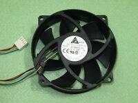 Delta AFB0912VH 92mm 80mm x 25mm Case Cooler Cooling Fan DC 12V 0.60A 4Pin B136