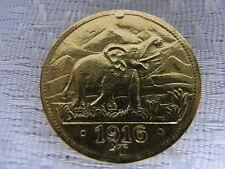 NOTMÜNZE DEUTSCH OSTAFRIKA 15 RUPIEN 1916 T GOLD 750-ER