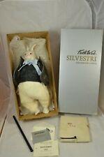 Silvestri Doll Faith Wick Alice in Wonderland White Rabbit 67/4000 Limited Coa