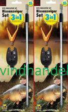 BEHR Bissanzeiger Set V-Rutenauflage Erdspiess elektrischer Bißanzeiger Biss Neu