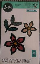 Sizzix Thinlits intrincado africano florales 3 Die establecidas por Craft asilo 660498