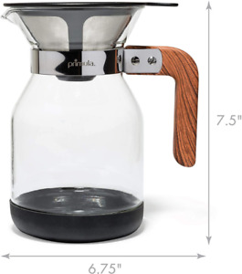 36oz Coffee Dripper Pour Over Maker Brewer Pot Micro Mesh Stainless Steel Filter