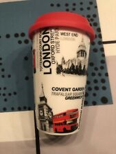 Magnifique Tasse NEUVE Mug De Londres ( London) Tenant Chaud Avec Couvercle