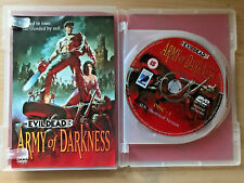 ARMY DARKNESS Evil Dead 3 ~ 1992 Cult Horror Rare Anchor Bay 2-Disc UK DVD