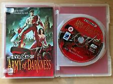 Militar Darkness Evil Dead 3 ~1992 Culto Horror Raro Anchor Bay 2-disc Gb DVD