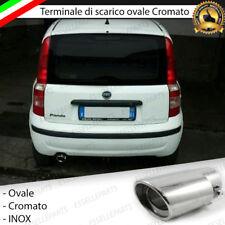 TERMINALE DI SCARICO PER MARMITTA FINALINO CROMATO INOX FIAT PANDA 169