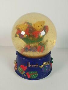 Harrods Musical Christmas Snowglobe