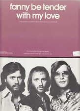 Fanny Be Tender With My Love - The Bee Gees - 1975 US Sheet Music