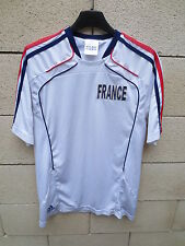 Maillot EQUIPE de FRANCE Adidas Climacool shirt Sauzet blanc S