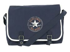 Converse Navy Blue Buckle Canvas Flap Bag 140648