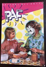 PUBBLICITA' A FUMETTI PAF - EDITORI DEL GRIFO 1987