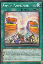 YUGIOH CARD SYMPH AMPLIFIRE MP17-EN234 1ST EDITION
