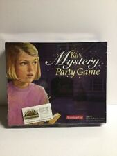 American Girl Kit's Mystery Party Board Game Host A Mystery Complete!