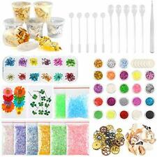 60 Pack Resin Jewelry Making Supplies Kit for Nail Art and Craft Decoration