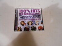 100% HITS-THE BEST OF 2010 WINTER EDITION-2 CD SET-AUSTRALIA-SIA-CREED-GREEN DAY