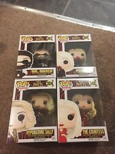Funko POP American Horror Story Set Hypodermique Sally, Comtesse, Holden, M. March