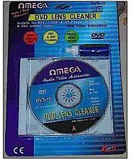 OMEGA 23015 Universal CD DVD Wet Dry Lens Cleaner Kit Improve Playback Music