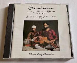 Water Lily Acoustics CD: SARADAMANI Vishwa Mohan Bhatt WLA-ES-23-CD 1992 Kavi A.