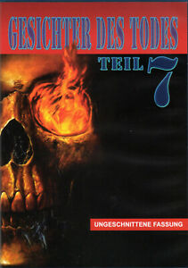 Gesichter des todes 7, 100% uncut, death scenes 2, new and sealed