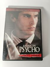 New listing American Psycho (Dvd, Uncut Version) Killer Collector's Edition) Christian Bale