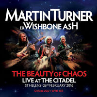 Martin Turner : The Beauty of Chaos: Live at the Citadel CD Album with DVD 3