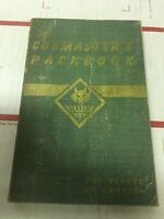 The Cubmaster's Packbook - Boy Scouts of America - Vintage - 1943