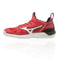 Mizuno Mens Wave Luminous Indoor Court Shoes Red Sports Squash Badminton