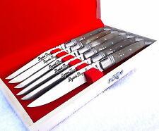 LAGUIOLE white natur bone Steak knives,cutlery set,dinner knives.kitchen knives.