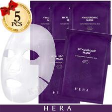 [ HERA Hyaluronic Acid Mask Sheet 5pcs ] Moisturizer Skin Care Korean Cosmetics