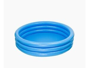 Intex Inflatable 3 Ring Paddling Pool - Baby Toddler Swimming -FREE DELIVERY! 🚛