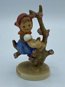 Hummel Collectible Porcelain Figurine Apple Tree Girl #141 3/0 Germany